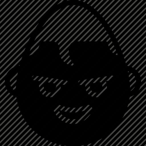 emojis, emotion, face, smiley, superman icon