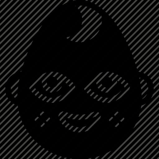 baby, boy, emojis, emotion, face, smiley icon