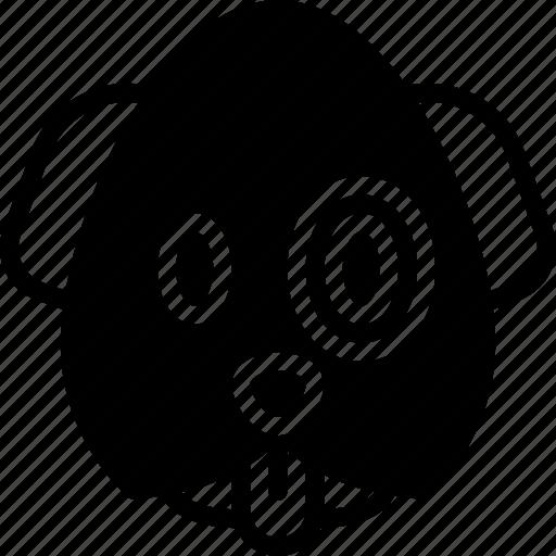 Emojis, emotion, face, puppy, smiley icon - Download on Iconfinder
