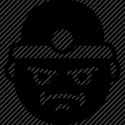 emojis, emotion, face, miner, smiley icon