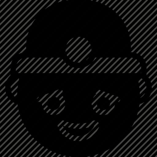 Emojis, emotion, face, happy, miner, smiley icon - Download on Iconfinder