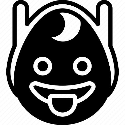 emojis, emotion, face, finn, smiley, tongue icon