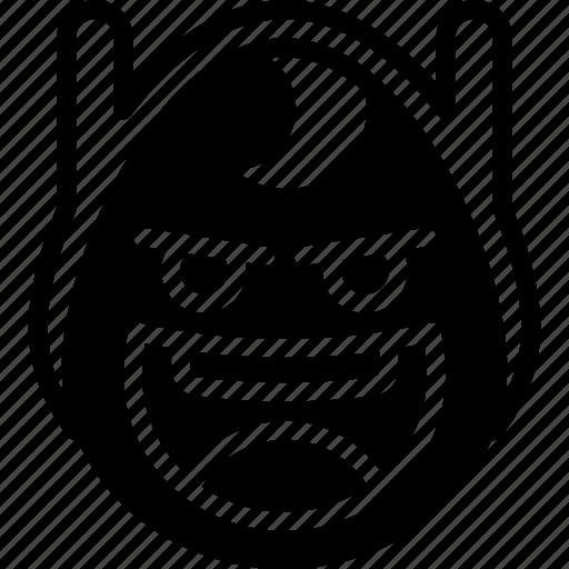 crazy, emojis, emotion, face, finn, smiley icon