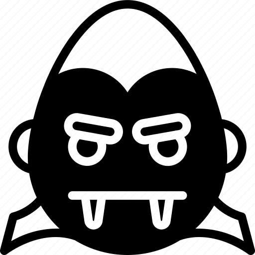 count, cross, dracula, emojis, emotion, face, smiley icon