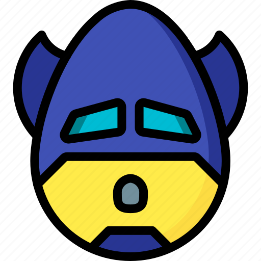 batman, emojis, emotion, face, oh, smiley icon