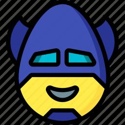 batman, emojis, emotion, face, happy, smiley icon