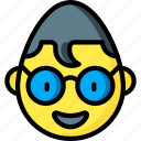 clark, emojis, emotion, face, kent, smiley icon