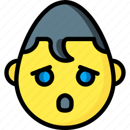 emojis, emotion, face, oh, smiley, superman icon