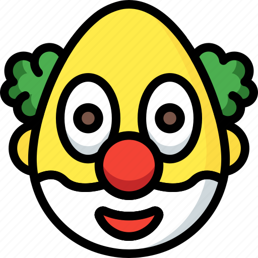 Clown, emojis, emotion, face, smiley icon - Download on Iconfinder