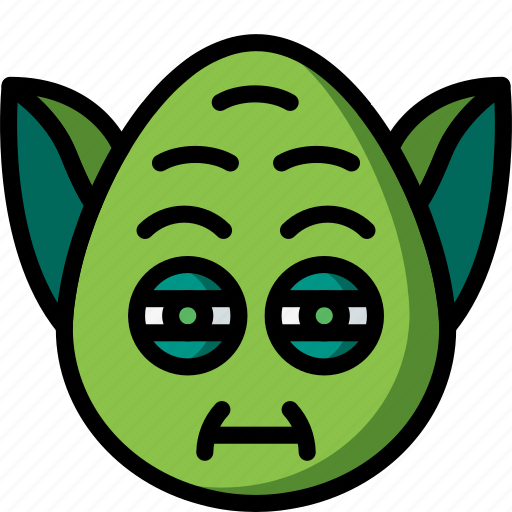 Emojis, emotion, face, smiley, yoda icon - Download on Iconfinder