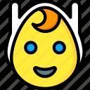emojis, emotion, face, finn, human, smiley, the icon