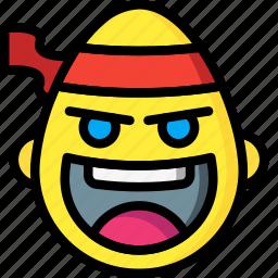 emojis, emotion, face, fu, kung, smiley icon
