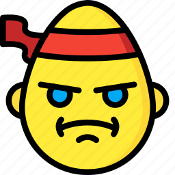 cross, emojis, emotion, face, fu, kung, smiley icon