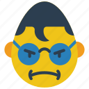 angry, clark, emojis, emotion, hero, kent, smiley icon