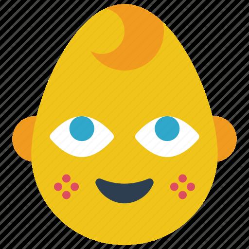 baby, boy, emojis, emotion, smiley icon