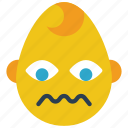 baby, boy, emojis, emotion, sad, sick, smiley icon