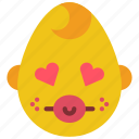 baby, boy, emojis, emotion, love, smiley icon