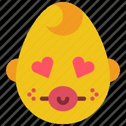 baby, boy, emojis, emotion, love, smiley icon