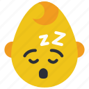 baby, boy, emojis, emotion, sleep, smiley, tired icon