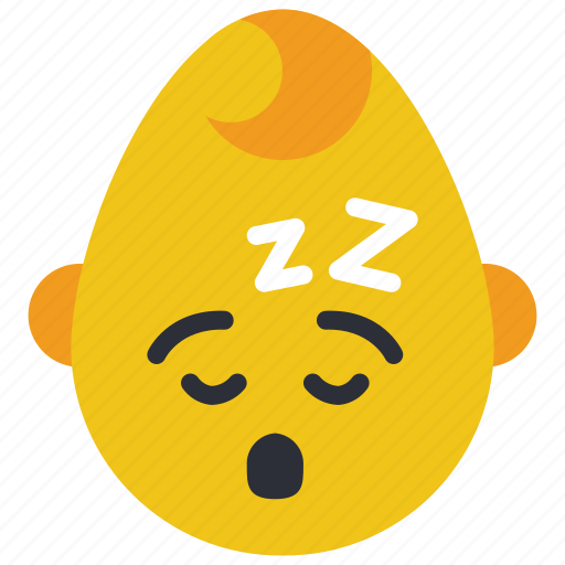 baby, boy, emojis, emotion, sleep, smiley, tired icon