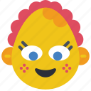baby, emojis, emotion, girl, smiley icon