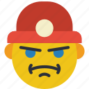 construction, emojis, emotion, miner, worker icon