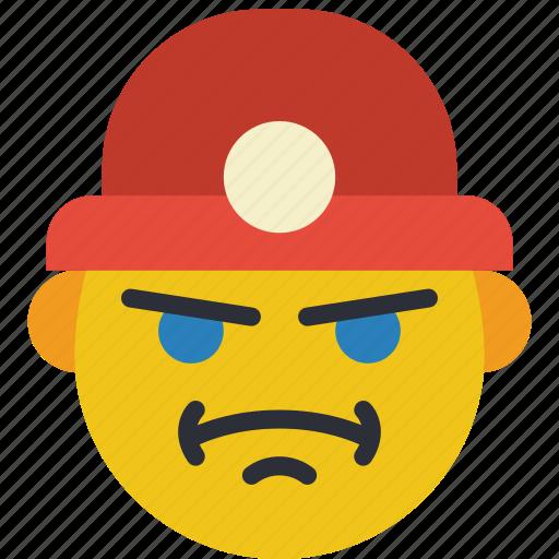 construction, emojis, emotion, miner, worker icon