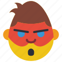 dc, emojis, emotion, hero, man, masked, robin icon