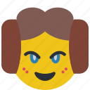 emojis, emotion, lea, princess, star wars icon