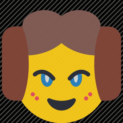 emojis, emotion, lea, princess, star wars icon