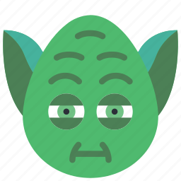 emojis, emotion, jedi, star, star wars, wars, yoda icon