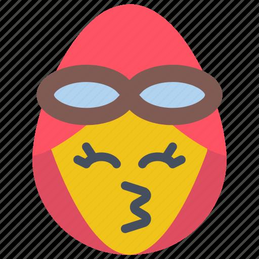 amilea, earhart, emojis, flirt, girl, kiss, pilot icon