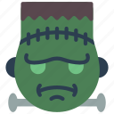 cross, emojis, frankenstein, october, scary, second, spooky icon