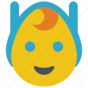 adventure, emojis, emotion, finn, human, smiley, time icon