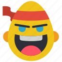 emojis, emotion, fu, judo, karate, kung, smiley icon