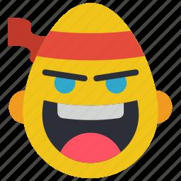 emojis, emotion, fu, judo, karate, kung, smiley icon