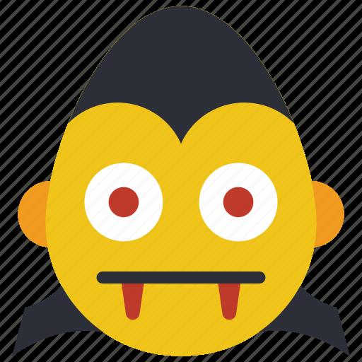 count, dracula, emojis, emotion, hammer, smiley, spooky icon