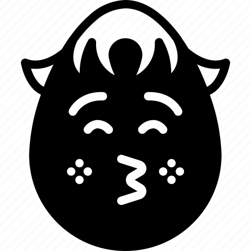 boy, emojis, emotion, face, kiss, shy, smiley icon