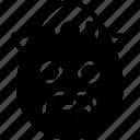 boy, emojis, emotion, face, grumpy, mustache, smiley icon