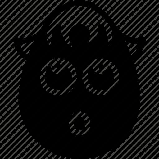 boy, emojis, emotion, face, innocent, smiley icon