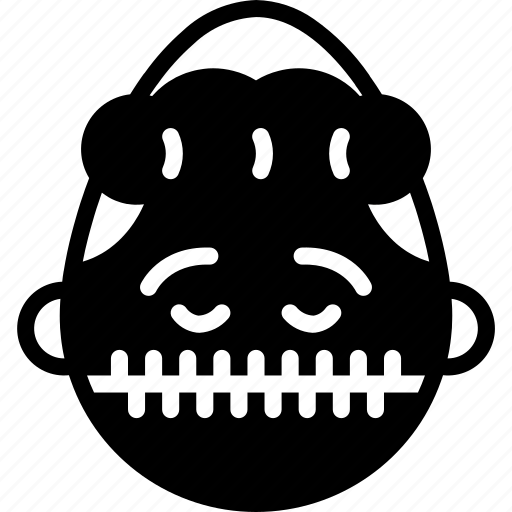 emojis, emotion, face, girl, quiet, silent, smiley icon