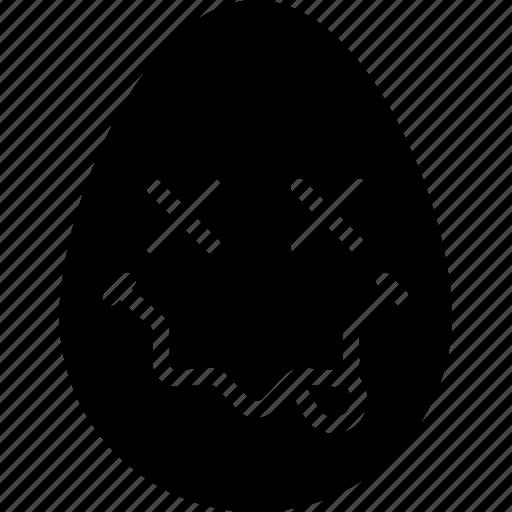 dead, emojis, emotion, face, nirvana, smiley icon