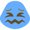 abhorrence, ghastly, nausea, sick icon