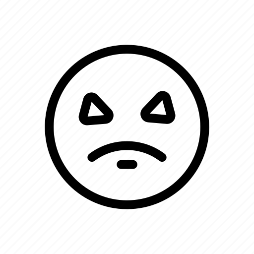 Angry, emoji, emoticon icon - Download on Iconfinder