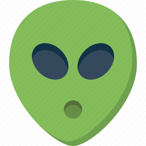 alien, emoticon, emotion, expression, face, smiley, ufo icon