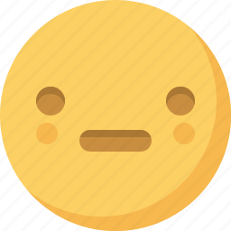 dull, emoticon, emoticons, emotion, expression, face, smiley icon