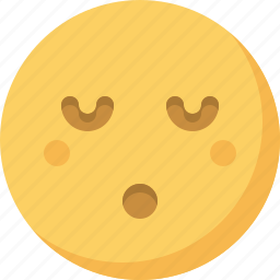 emoticon, emotion, expression, face, night, sleepy, smiley icon