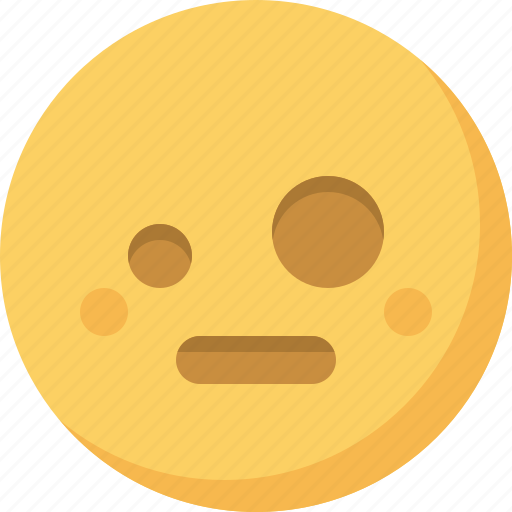 emoticon, emotion, expression, face, shock, smiley, wondering icon
