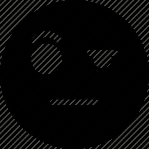 emoji, emotion, expression, face, wondering icon