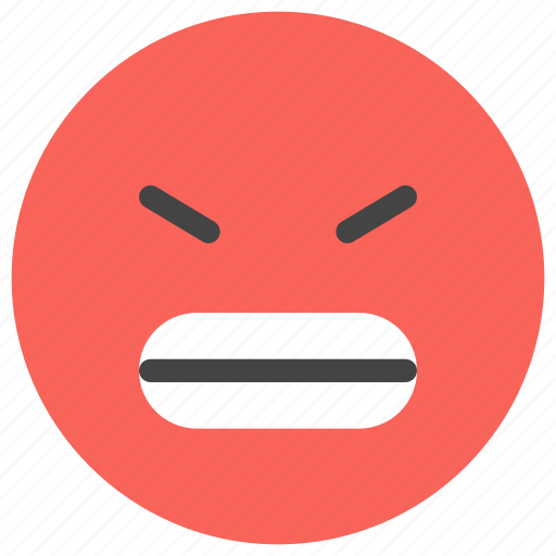 angry, emoticons, furious, smiley, unhappy, upset icon